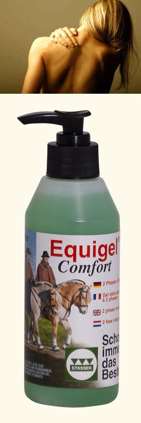 Stassek DIVERSIT - Equigel Comfort 2-Phasen Pflege-Gel www.stassek.com